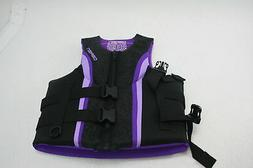 O'Brien Women's Impulse Zipper Front Neo Life Vest Purple Me