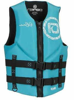 O'Brien Women's Traditional Life Jacket Aqua Medium