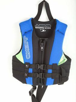 O'Neill Child Life Vest USCG Approved Neoprene PFD Lifejacke