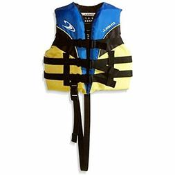 O'Neill Child Superlite USCG Life Vest,Pacific/Yellow/Black/