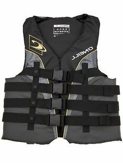 O'Neill  Men's Superlite USCG Life Vest Black/graphite/smoke