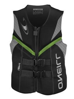 O'Neill Mens Reactor Life Vest: US Coast Guard Approved Neop
