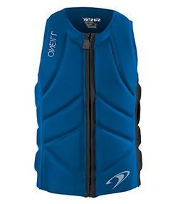 O'Neill Wetsuits Men's Slasher Comp Life Vest, Ocean/Black,