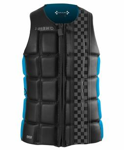 O'Neill Wetsuits Wake Waterski Men's Checkmate Comp Vest, X