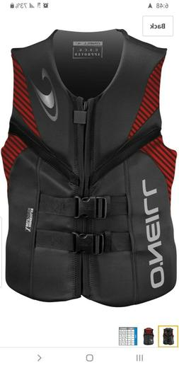 O'Neill Wetsuits Wake Waterski Mens Reactor USCG Life Vest G