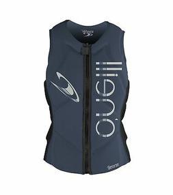 O'Neill Women's Slasher Comp Life Vest 6 Mist/Graphite