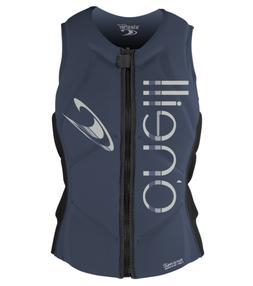 O'Neill Women's Slasher Comp Life Vest, Mist/Graphite, 6