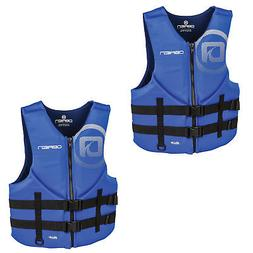 OBrien Blue Mens Traditional BioLite Boat Life Jacket Vest,