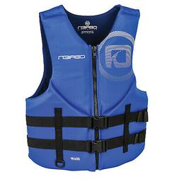 OBrien Blue Mens Traditional BioLite Neoprene Life Jacket Ve