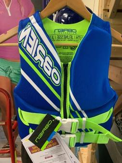 Obrien Green/Blue Youth Life Jacket