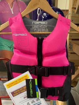 Obrien Pink Youth Small Life Jacket