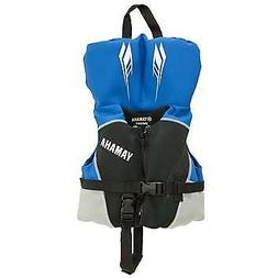 OEM Yamaha Boys Blue Kids Neoprene Life Jacket Vest Infant