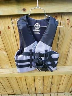 OEM Men's Yamaha Value Nylon 3-Buckle PFD Life Jacket Vest G
