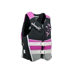 OEM Women's Yamaha Neoprene 2-Buckle Life Jacket Vest PFD Pi