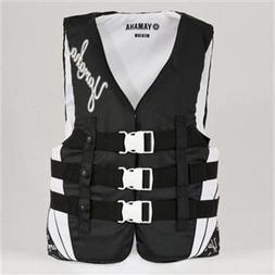 OEM Yamaha Women's Nylon Life Jacket Vest PFD Black XX-Large