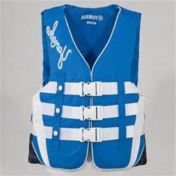 OEM Yamaha Women's Nylon Life Jacket Vest PFD Blue XXX-Large