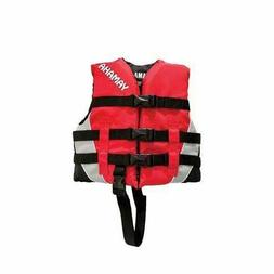 OEM Yamaha Waverunner Red Children's Nylon Life Jacket Vest