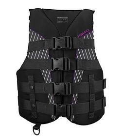 O'Neill   Women's SuperLite USCG Life Vest ,Black/Smoke/Blac
