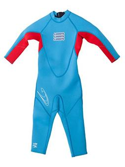 ONeill Wetsuits Youth/Toddler Reactor Full Wetsuit, Brite Bl