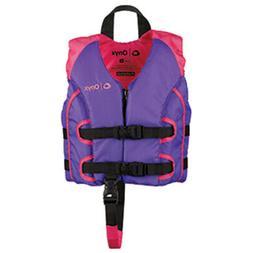 Onyx All Adventure Child Life Jacket - Child 30-50lbs - Purp