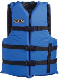 Full Throttle Onyx General Purpose Vests - Adult 2XL/4XL, Bl