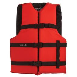 Onyx Nylon General Purpose Life Jacket - Adult Oversize - Re