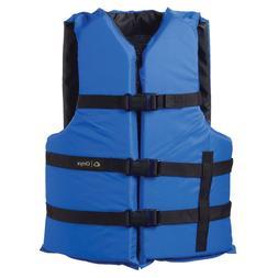 Onyx Nylon General Purpose Life Jacket - Adult Oversize - Bl