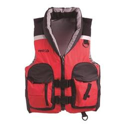 Onyx Pro Sportsman Adult Select Sport Vest, Red/Black, Mediu