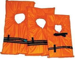 Kent Orange Foam Life Preserver, Small, 30 to 50 lbs