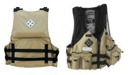 Extrasport Osprey Kayak Fishing PFD Life Jacket - Sand **$30