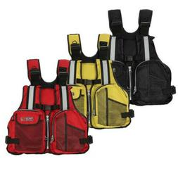 Outdoor Adults Lifesaving Vest Aid Sailing Boating Sports Sw