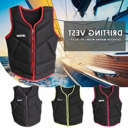 Outdoor Drifting Water Sport Life Jacket For Adult And Kids