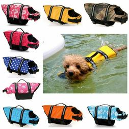 Outdoor Pet Swimming Safety Vest Dog Life Jacket Reflective