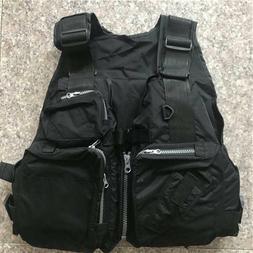 Outdoor Sea Fishing Life Vest Breathable Swimming Life Jacke