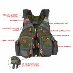 Outdoor Sport Fishing Vest Men Breathable Swimming Life Jack