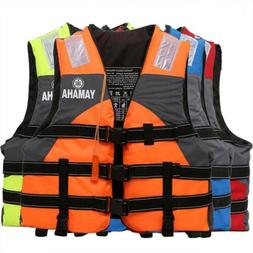 Outdoor Sports Safely Fishing Whistle Adult Life Jacket Vest