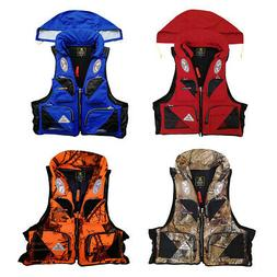 Outdoor Water Life Jacket Fishing Vest For Water Sports Surv