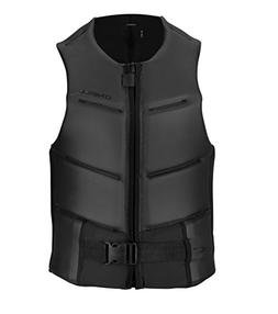 O'Neill Mens Outlaw Comp Vest, Black/Black, Medium