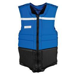 Ronix Parks NCGA Impact Vest Blue/Wht -xxlarge