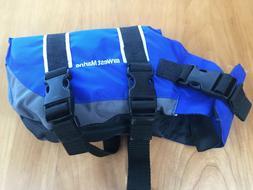 West Marine Pet Flotation Device PFD Safety Vest Blue Life J