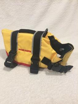 West Marine Pet Flotation Device PFD Safety Vest Size XS Yel