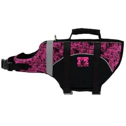 Body Glove Pet Flotation Device, Large, Black/Pink