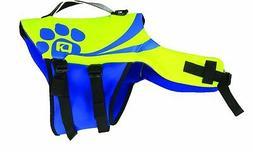 O'Brien Pet Life Vest, X-Large, Yellow/Blue