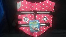 Paws Aboard Pink Polka Dot Doggy Life Jacket
