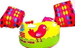 Body Glove Pink Shore Bird Paddle Pals Learn to Swim Life Ja