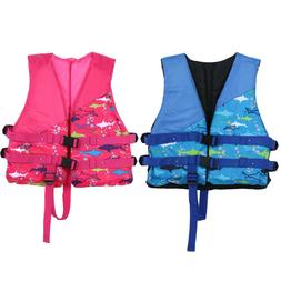 Polyester Child Life Jacket Universal Swimming Jackets Boati