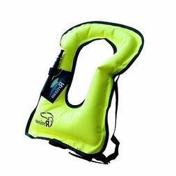 Rrtizan Unisex Adult Portable Inflatable Canvas Life Jacket