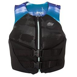 Hyperlite Women's Profile Neo Vest, Black/Aqua