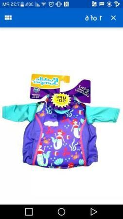 Puddle Jumper 2 In 1 Life Jacket & Rash Guard For Kids US Co