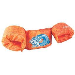 Stearns Puddle Jumper Deluxe Child Life Jacket, Orange Wave